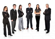 Diverse business team Stock Photos