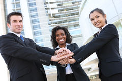 Diverse  Business Team Stock Image