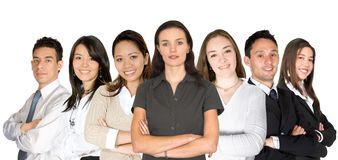 Diverse business team Royalty Free Stock Photo