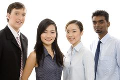 Diverse Business Team 4. A happy and confident team of young attractive individuals Royalty Free Stock Photography