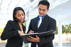 Free Diverse Business Team At Office Building Stock Photography - 11696732