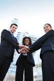Diverse  Business Team (Focus on Man) Stock Images