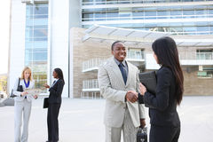 Diverse Business Team Handshake Royalty Free Stock Images