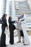 Diverse Business Team Handshake Royalty Free Stock Photos