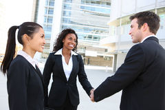 Diverse  Business Team Handshake Royalty Free Stock Photography