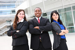 Diverse Business Team at Office Royalty Free Stock Photos