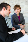 Diverse Business Team at Office Royalty Free Stock Photography
