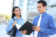 Diverse Business Team at Office Building Royalty Free Stock Photo