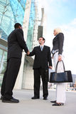 Diverse Business Team Shaking Hands Stock Photos