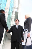 Diverse Business Team Shaking Hands Stock Image