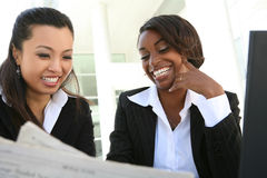 Diverse Business Woman Team Stock Images