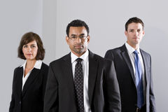 Diverse businesspeople in suits Royalty Free Stock Photos