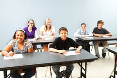Diverse Classroom with Copyspace Royalty Free Stock Photography