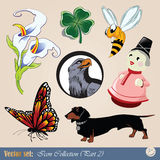 Diverse clipart Royalty Free Stock Photo