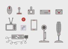 Diverse communicatiemiddelen en methodes Royalty-vrije Stock Foto's