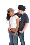 Diverse couple Royalty Free Stock Photo