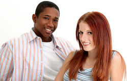 Diverse Couple Stock Image