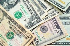 Diverse de Dollars van Verenigde Staten Stock Foto's