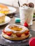 Diverse desserts Stock Foto's