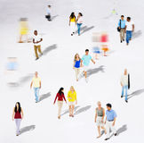 Diverse Diversity Ethnic Ethnicity Togetherness Concept. Diverse Diversity Ethnic Ethnicity Togetherness Variation Crowd Concept Royalty Free Stock Photo