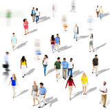 Diverse Diversity Ethnic Ethnicity Togetherness Concept. Diverse Diversity Ethnic Ethnicity Togetherness Variation Crowd Concept Royalty Free Stock Images