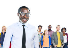 Diverse Diversity Ethnic Ethnicity Togetherness Team Partnership Stock Image