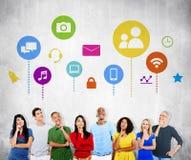 Diverse Diversity Ethnic Ethnicity Togetherness Team Partnership. Concept Stock Photo