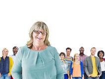 Diverse Diversity Ethnic Ethnicity Togetherness Team Partnership. Concept Royalty Free Stock Photo