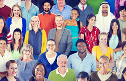 Diverse Diversity Ethnic Ethnicity Togetherness Unity Concept Royalty Free Stock Images