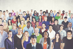 Diverse Diversity Ethnic Ethnicity Togetherness Unity Concept Stock Photography