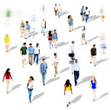 Diverse Diversity Ethnic Ethnicity Togetherness Variation Crowd Stock Image