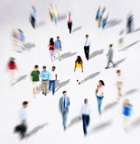 Diverse Diversity Ethnic Ethnicity Togetherness Variation Crowd. Concept Royalty Free Stock Image