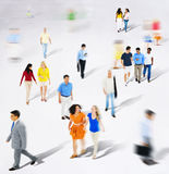 Diverse Diversity Ethnic Ethnicity Togetherness Variation Crowd. Concept Royalty Free Stock Photos