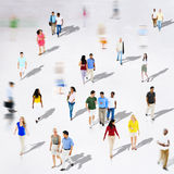 Diverse Diversity Ethnic Ethnicity Togetherness Variation Crowd. Concept Stock Photos