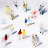 Diverse Diversity Ethnic Ethnicity Togetherness Variation Crowd. Concept Stock Image