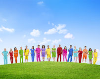 Diverse Diversity Ethnic Ethnicity Unity Togetherness Concept Stock Photography