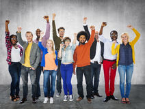 Diverse Diversity Ethnic Ethnicity Unity Variation Concept.  Royalty Free Stock Images