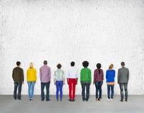 Diverse Diversity Ethnic Ethnicity Unity Variation Concept.  stock image