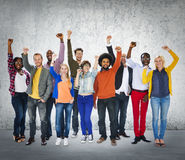 Diverse Diversity Ethnic Ethnicity Unity Variation Concept.  Royalty Free Stock Photography