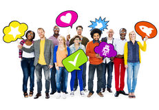 Diverse Diversity Ethnic Ethnicity Variation Unity Team Concept.  Stock Photo