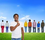 Diverse Diversity Ethnic Ethnicity Variation Unity Togetherness. Concept Stock Photos