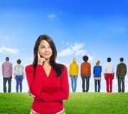 Diverse Diversity Ethnic Ethnicity Variation Unity Togetherness. Concept Stock Image