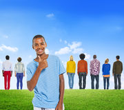 Diverse Diversity Ethnic Ethnicity Variation Unity Togetherness. Concept Stock Photography