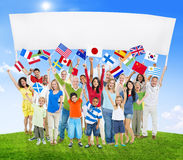 Diverse Diversity Ethnic Ethnicity Variation Unity Togetherness. Concept Royalty Free Stock Photography