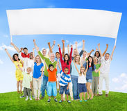 Diverse Diversity Ethnic Variation Unity Togetherness Concept Royalty Free Stock Image