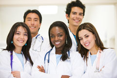 Diverse doctors Royalty Free Stock Photos