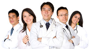 Diverse doctors team Royalty Free Stock Photo