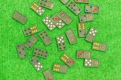 Diverse domino's Royalty-vrije Stock Afbeeldingen