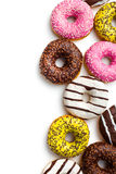 Diverse donuts stock foto's