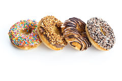 Diverse Donuts Stock Fotografie